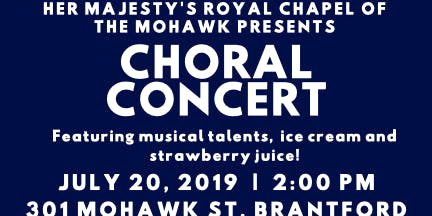 Canada's oldest Church to host the Choral Concert