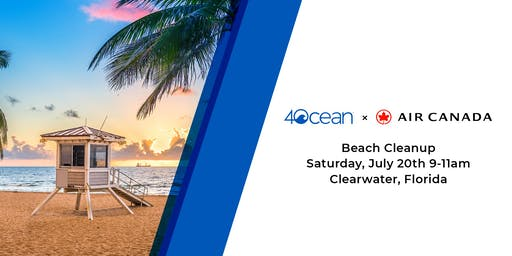 4ocean Beach Cleanup Powered by Air Canada
