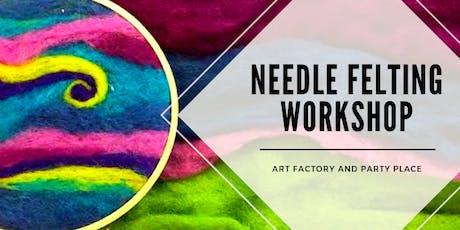 Needle Felting Workshop tickets