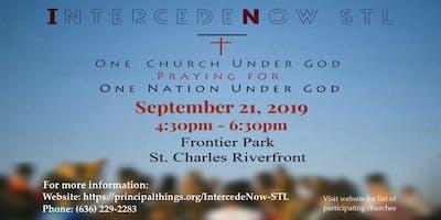 IntercedeNow STL Prayer Rally