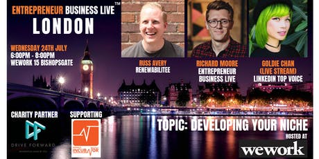 Entrepreneur Business Live London - 24th July 2019 tickets