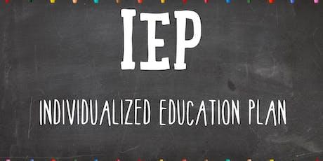 Understanding the IEP Process tickets
