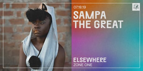 Sampa the Great @ Elsewhere (Zone One) tickets