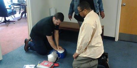 Cardiopulmonary Resuscitation (CPR) Certification tickets