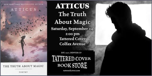 An Afternoon with Atticus, Book Talk & Signing