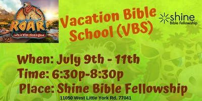 Vacation Bible School @Shine