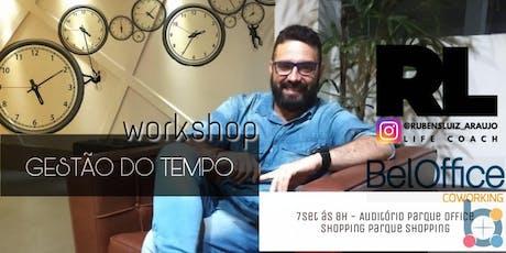 Workshop Gestão do Tempo ingressos