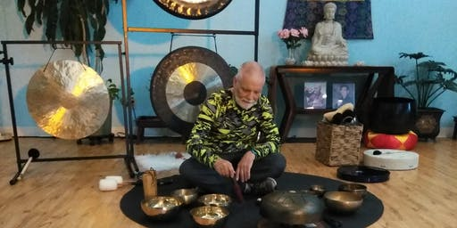 Gong Journeys Meditation at Dallas Meditation Center 7/28