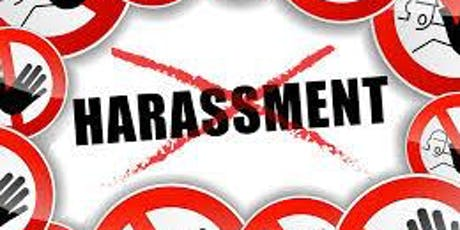 Sexual Harassment Prevention Training for Managers tickets