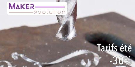 MakerEvolution Cours mécanique I billets