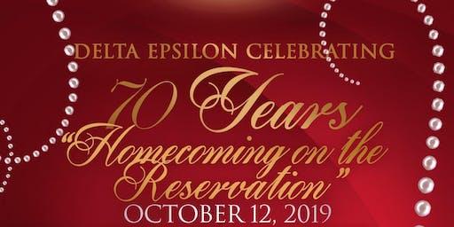 Delta Epsilon 70th Year Anniversary