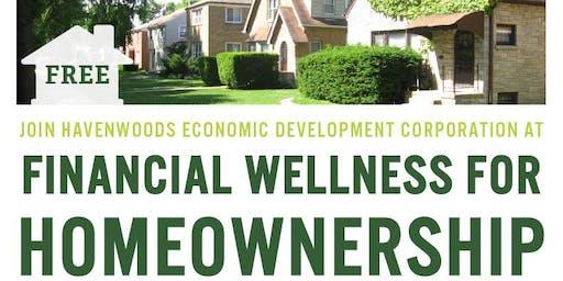 Financial Wellness for Homeownership