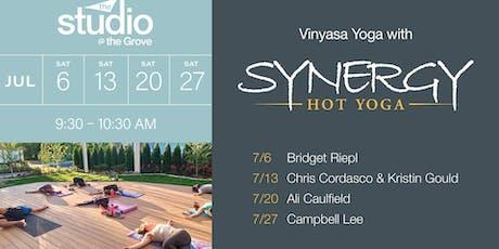Vinyasa Yoga with Synergy Hot Yoga tickets