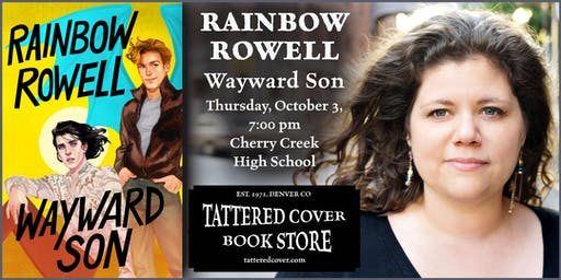 An Evening with Rainbow Rowell, Book Talk & Signing