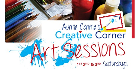 Auntie Connie's Creative Corner Saturday Art Sessions tickets