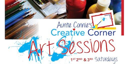 Auntie Connie's Creative Corner Saturday Art Sessions