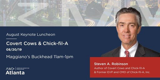 SOLD OUT - August 2019 AMA Atlanta Keynote Luncheon