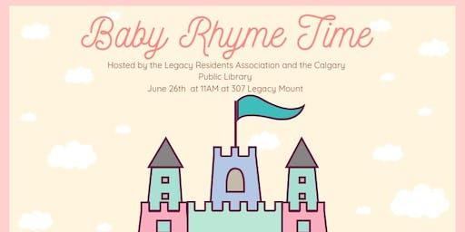 Legacy Baby Rhyme Time