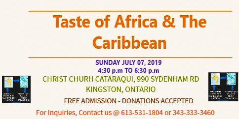 TASTE OF AFRICA AND THE CARIBBEAN