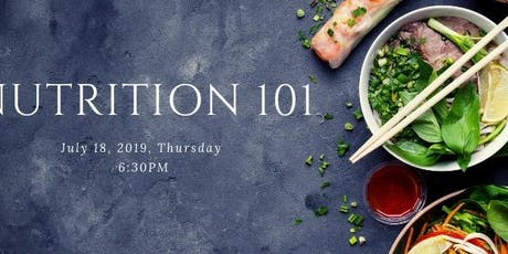Nutrition 101 tickets