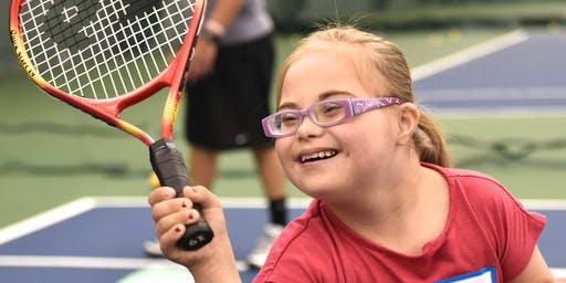 Play It Forward Down Syndrome Tennis Clinic