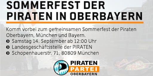 Sommerfest der Piraten Obb/Muc/By