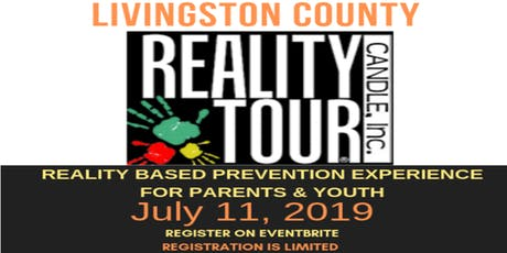 LIVINGSTON COUNTY REALITY TOUR- Thursday July 11 2019 tickets