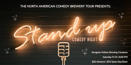The North American Comedy Brewery Tour at Dungeon Hollow Brewing Company tickets