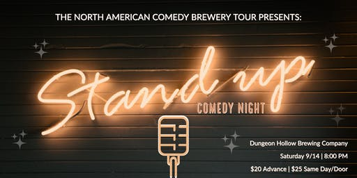 The North American Comedy Brewery Tour at Dungeon Hollow Brewing Company