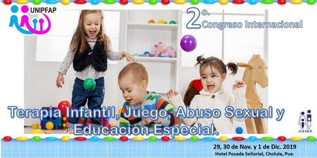 Congreso Internacional en Terapia Infantil, Juego, Abuso Sexual y Educación boletos