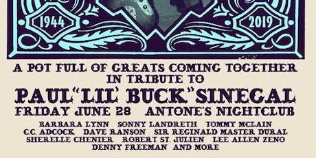 Lil' Buck Tribute: Barbara Lynn, Sonny Landreth, Tommy McLain & C.C. Adcock tickets