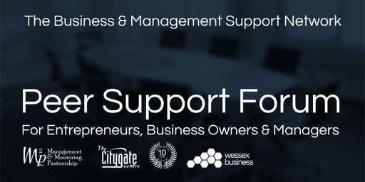 Business & Management Peer Support Forum - 24th September 2019