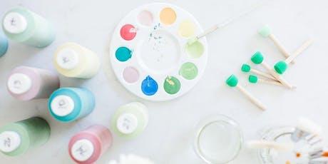 DIY Happy Hour: Ceramic Mandala Plate tickets