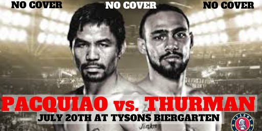 No Cover: Pacquiao vs. Thurman