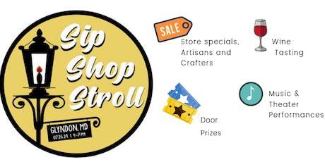 Glyndon Sip, Shop & Stroll tickets