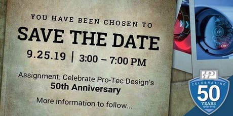 Pro-Tec Design's 50th Anniversary Party tickets