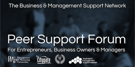 Business & Management Peer Support Forum - 26th November 2019 tickets