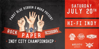 Team Registration: 2019 Rock Paper Scissors Indy Championship at HI-FI