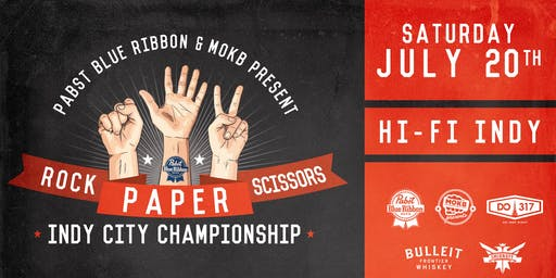 Team Registration: 2019 Rock Paper Scissors Indy Championship at HI-FI