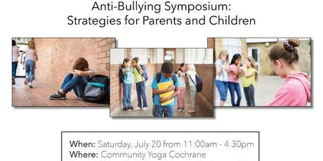 Anti Bullying Symposium: Resolve Legal Group & Safe4Life   tickets