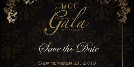MCC 50th Anniversary Gala - 2019 tickets