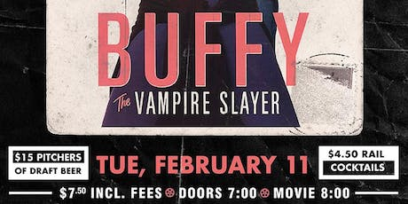 Buffy The Vampire Slayer tickets