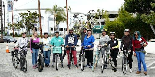 BEST Clase: Bicicleta 2 - Reglas de la carretera (Centro de Los Angeles)