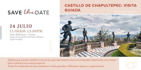Castillo de Chapultepec: Visita guiada  boletos