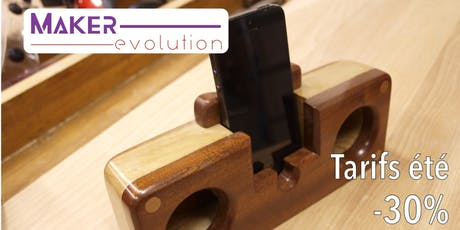 MakerEvolution Workshop enceinte passive billets