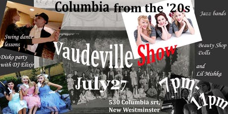 Vaudeville Show at The Columbia tickets
