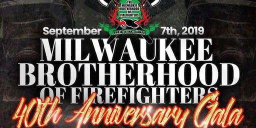 Milwaukee Brotherhood Of Firefighters 40th Anniversary Gala