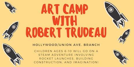 Art Camp with Robert Trudeau tickets