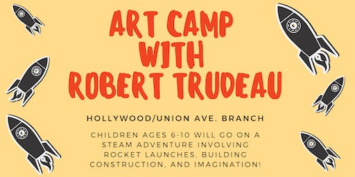 Art Camp with Robert Trudeau