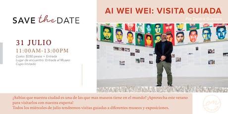 Ai Wei Wei: Visita Guiada tickets